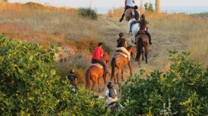 horse riding in Puglia